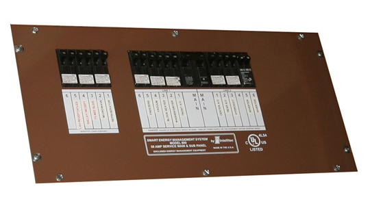Intellitec EMS800 Breaker Panel
